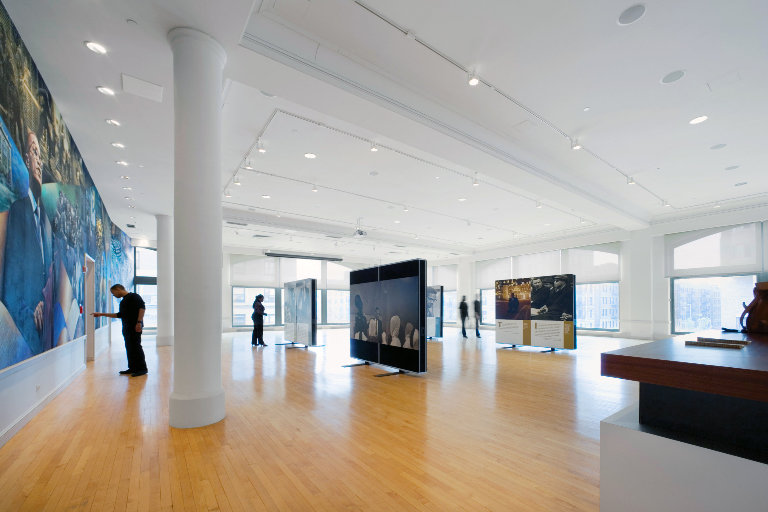 Malcolm X Memorial, Location: New York, NY, Architect: Davis Brody Bond, LLP