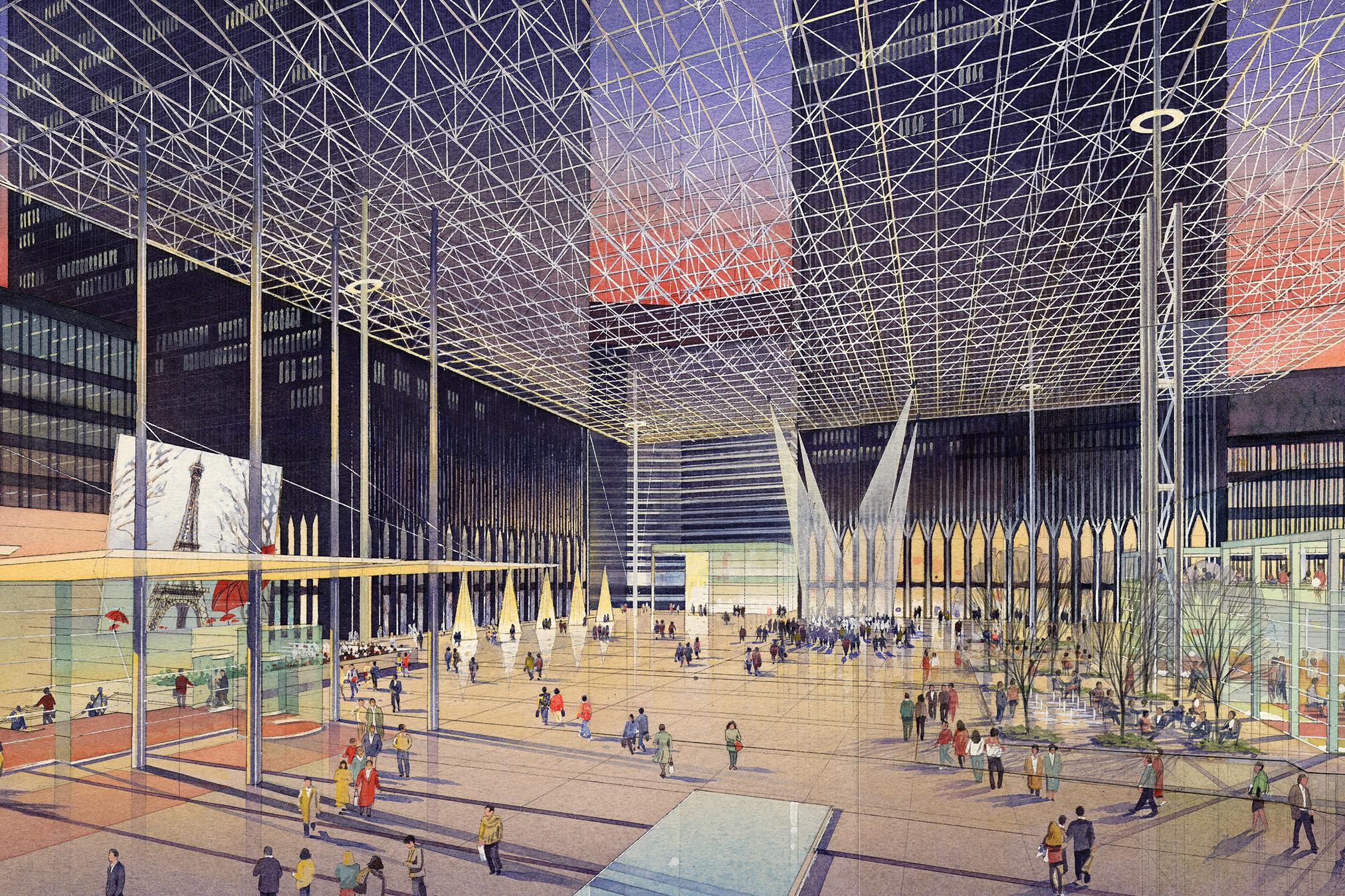 World Trade Center Public Spaces Master Plan (1995)