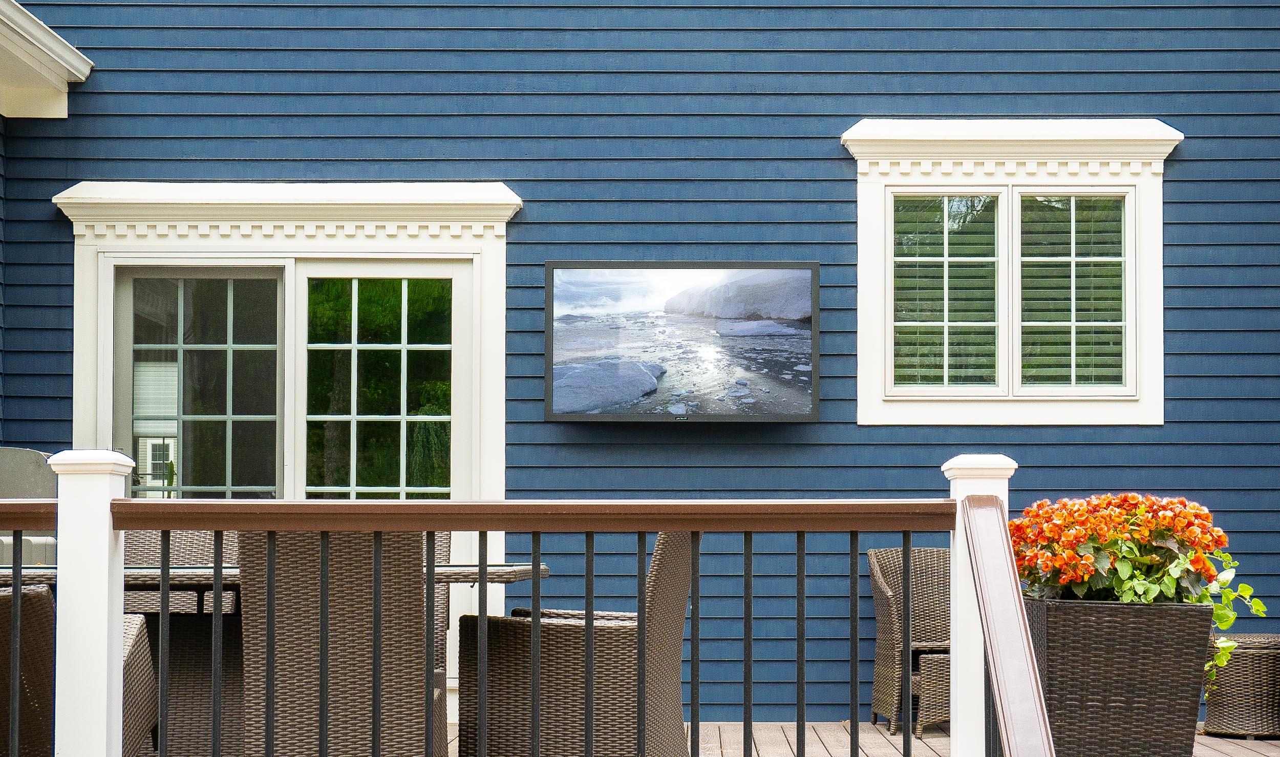 Outdoor TV Installation - Andover, MA