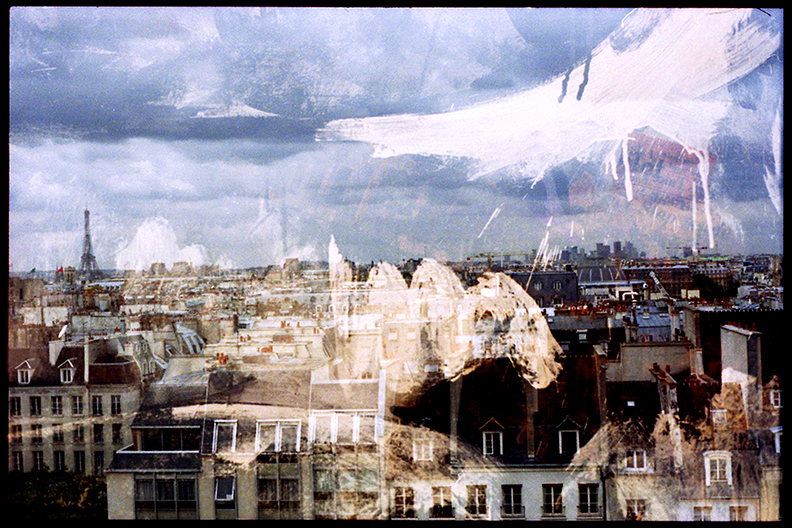 Paris from the Beaubourg (1)