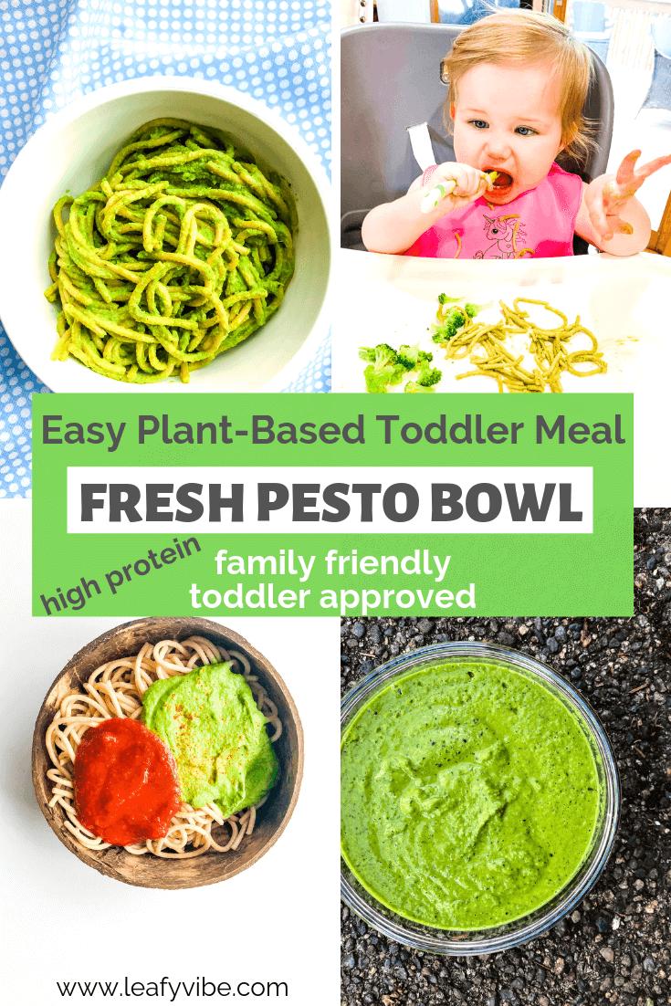 Vegan Pesto recipes. Family friendly plant-based meal also easy vegan toddler meal. #proteinrich #veganpesto #vegantoddlermeal #easytoddlermeal #healthyrecipes #plantbasedrecipe #pestorecipe