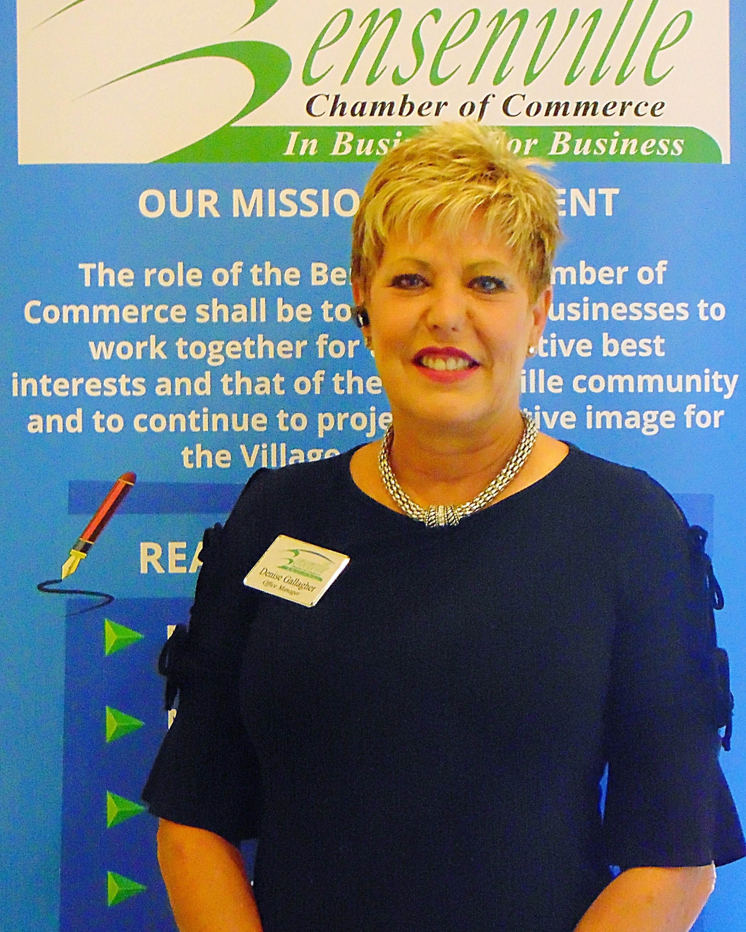 Denise Gallagher - Chamber Executive Assistant -