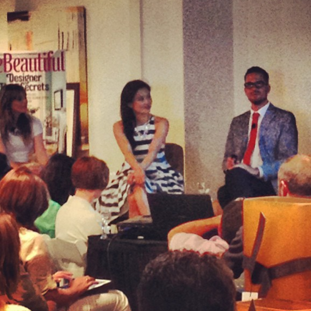 Speaking at House Beautiful Panel at LCDQ in Los Angeles
