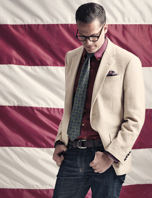 Shot for the Brooks Brother editorial campaign: Great Americans.