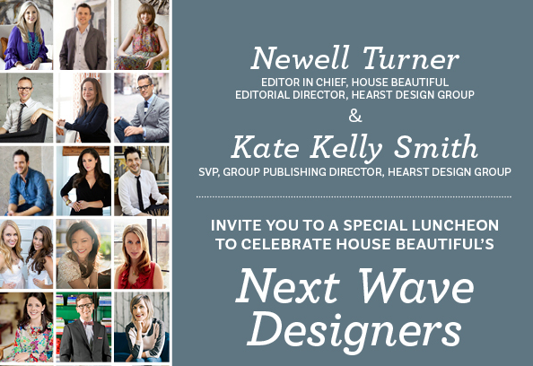 "Luncheon at Hearst Tower celebrating my ""Next Wave"" award"