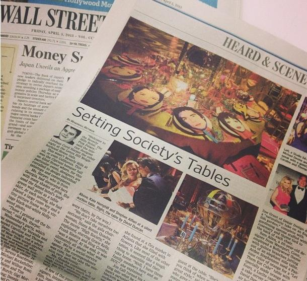 MCD's design philanthropy in the Wall Street Journal