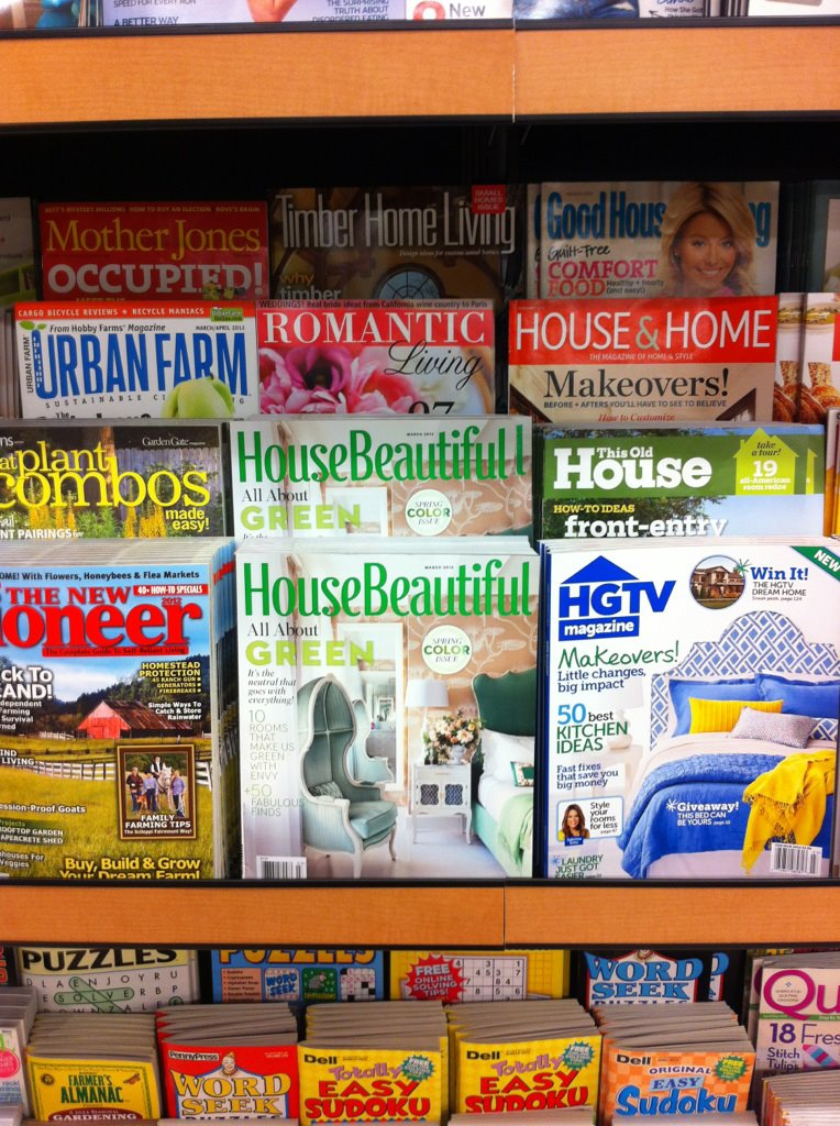 My father sent me this from my hometown. It was the the first issue of House Beautiful that I was ever published in. Proud papa.