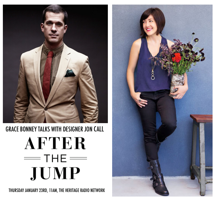 """After the Jump"" by Grace Bonney of DesignSponge"