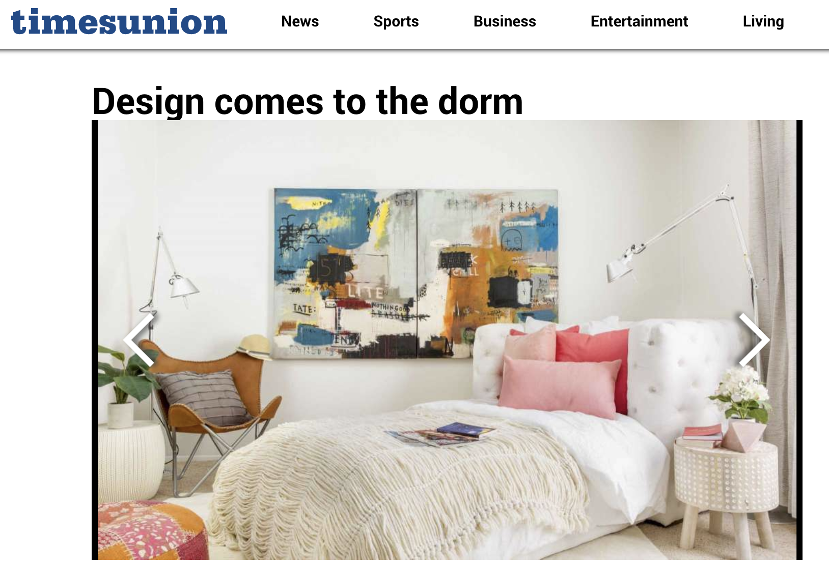 """Design Comes To The Dorm"" by TimesUnion"