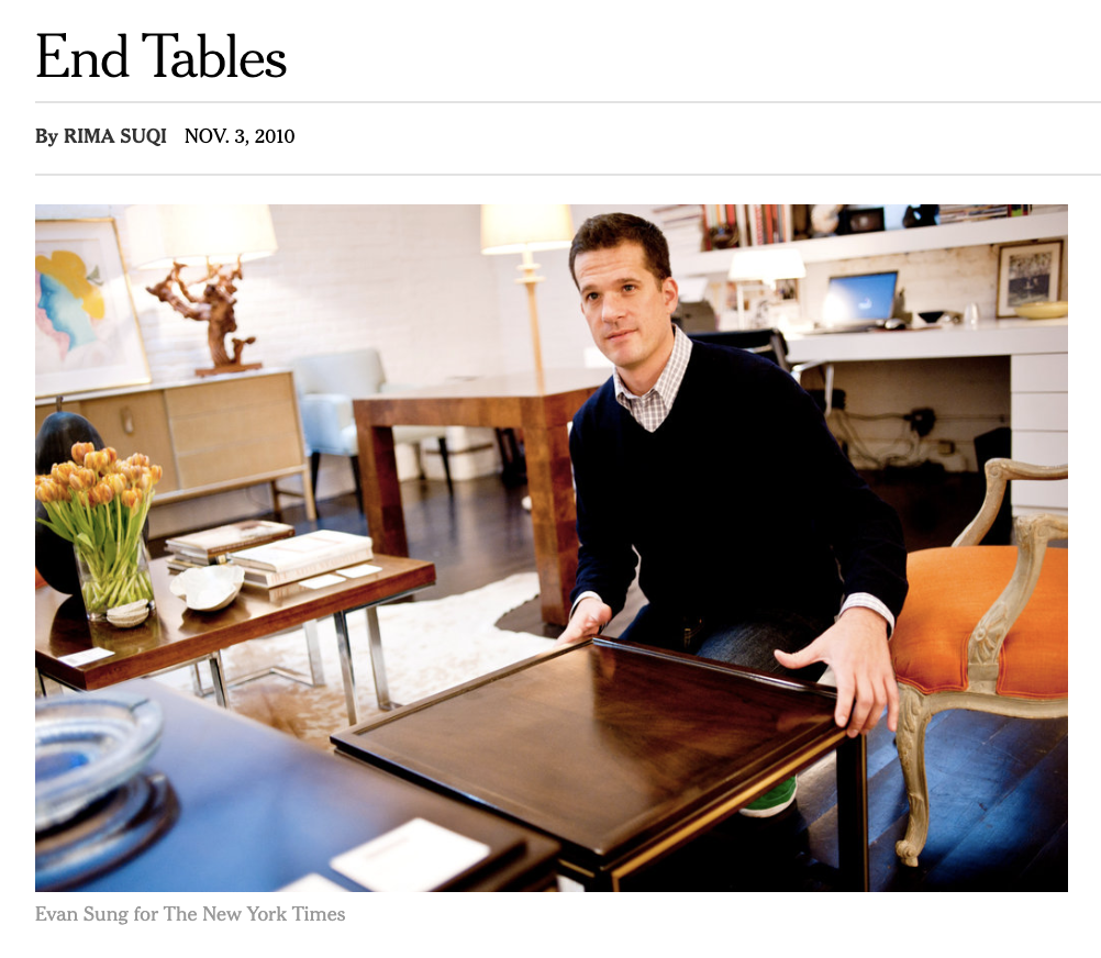 """Proportional End Tables"" by the New York Times"