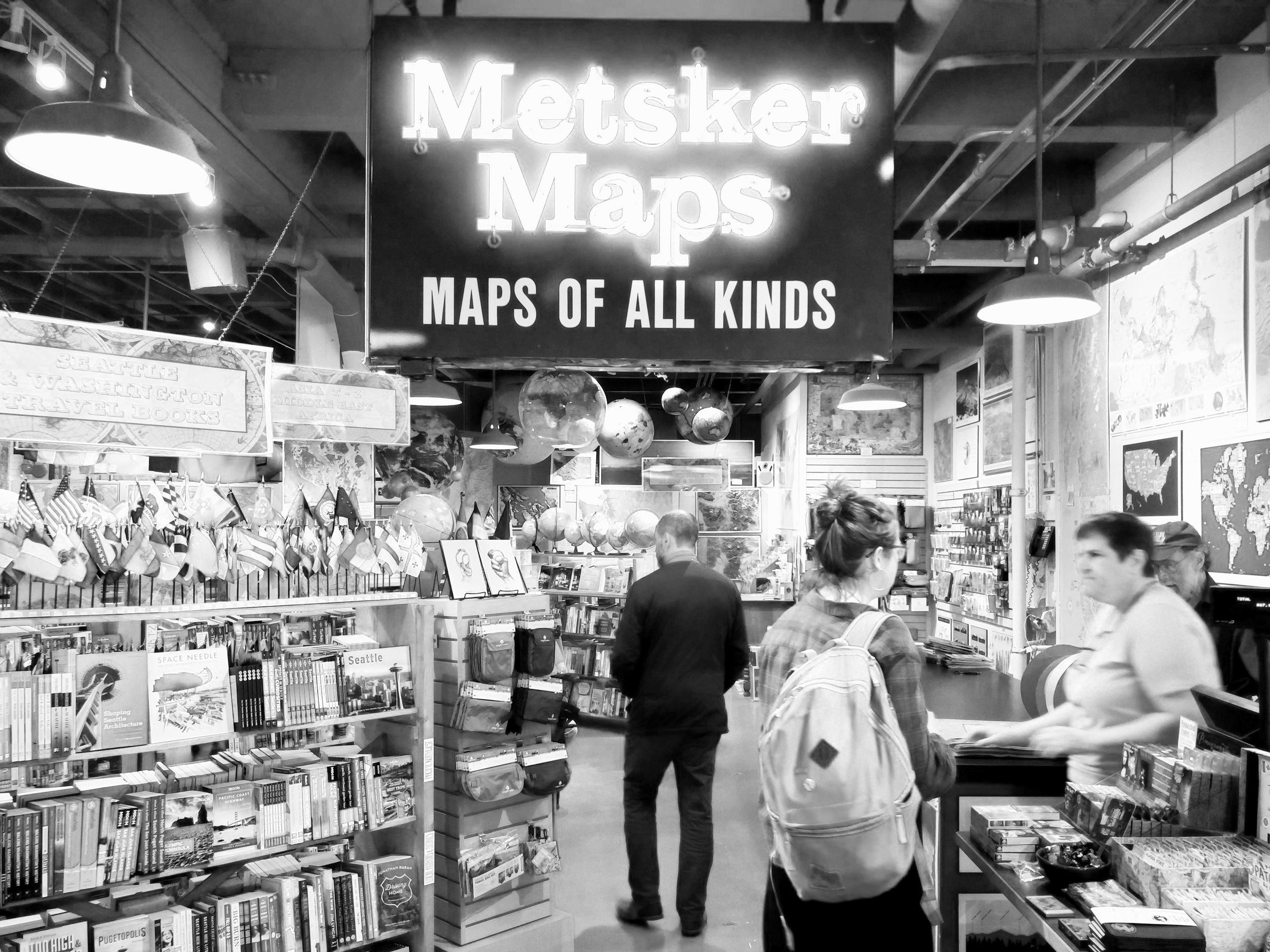 Metsker Maps in Seattle's Pike Place Market