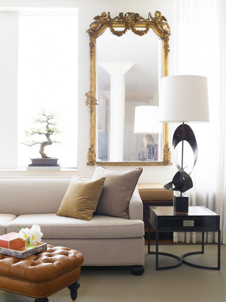 """Chelsea - In the art district of Manhattan, I created this project for a young man.This is my most celebrated interior. House Beautiful published this space and awarded me their """"Rising Star"""" prize.This home has a special place in my heart. It was the Beginning - and led to many wonderful things."""