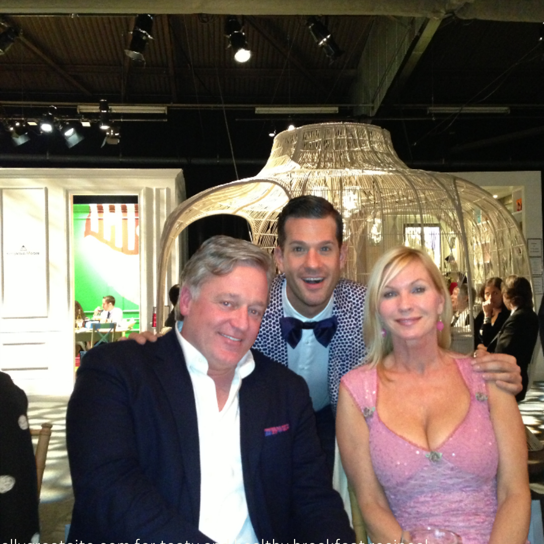 At DIFFA with Newell Turner