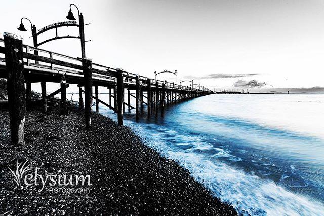 Home, sweet home. #whiterock #whiterockbc #beautifulbc #bc #whiterockpier #pier #shore #coast #coastline #blackandwhite #blue #home #homesweethome #beachlife #beach #welivehere