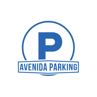 Avenida Houston Parking Logo