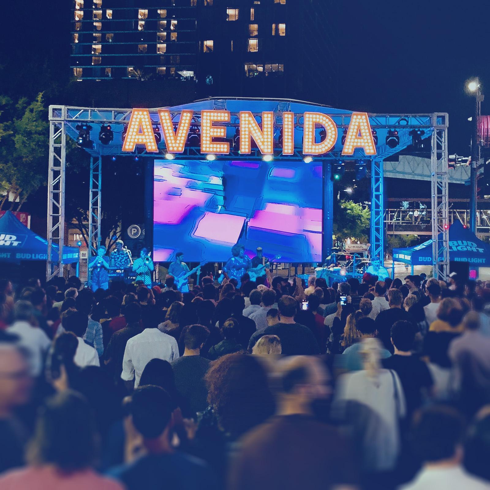 Avenida Houston Party on the Plaza Stage