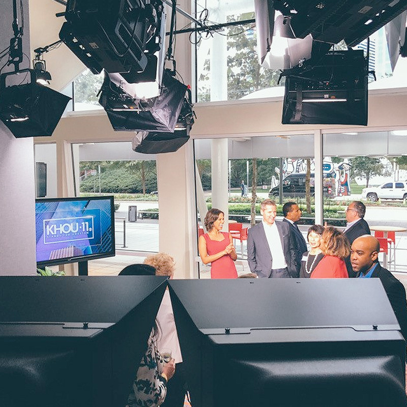 KHOU Avenida Studio Behind the Scenes