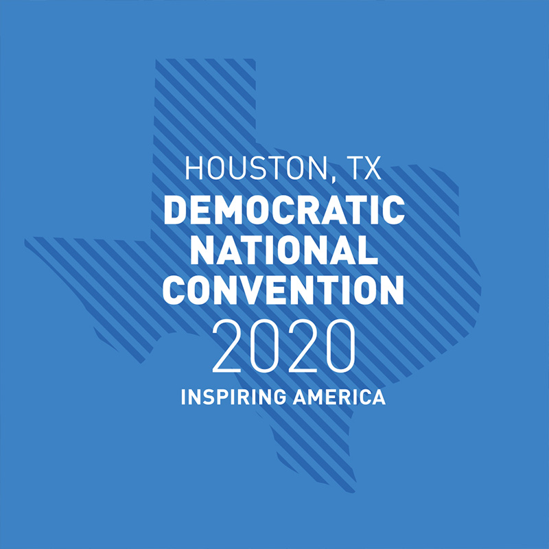 DNC 2020 Houston Logo
