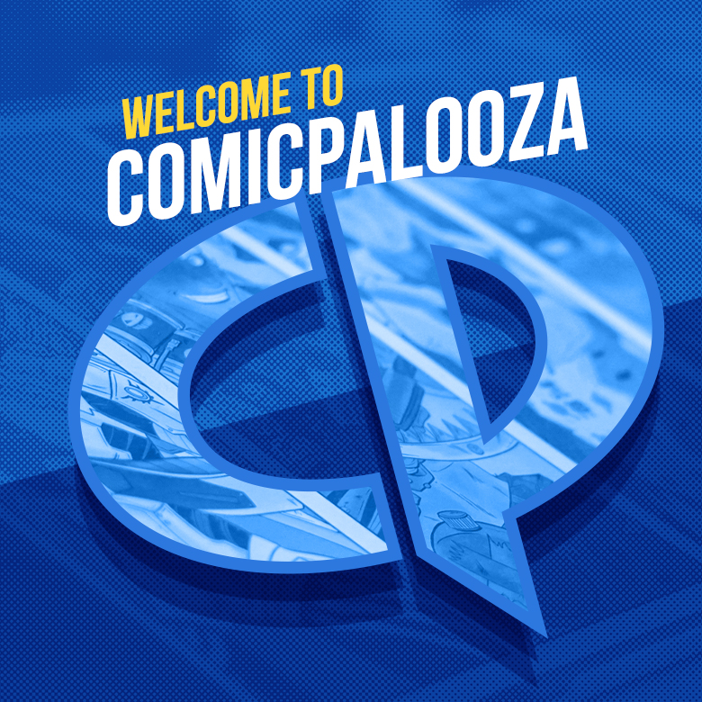 Comicpalooza Marketing Design