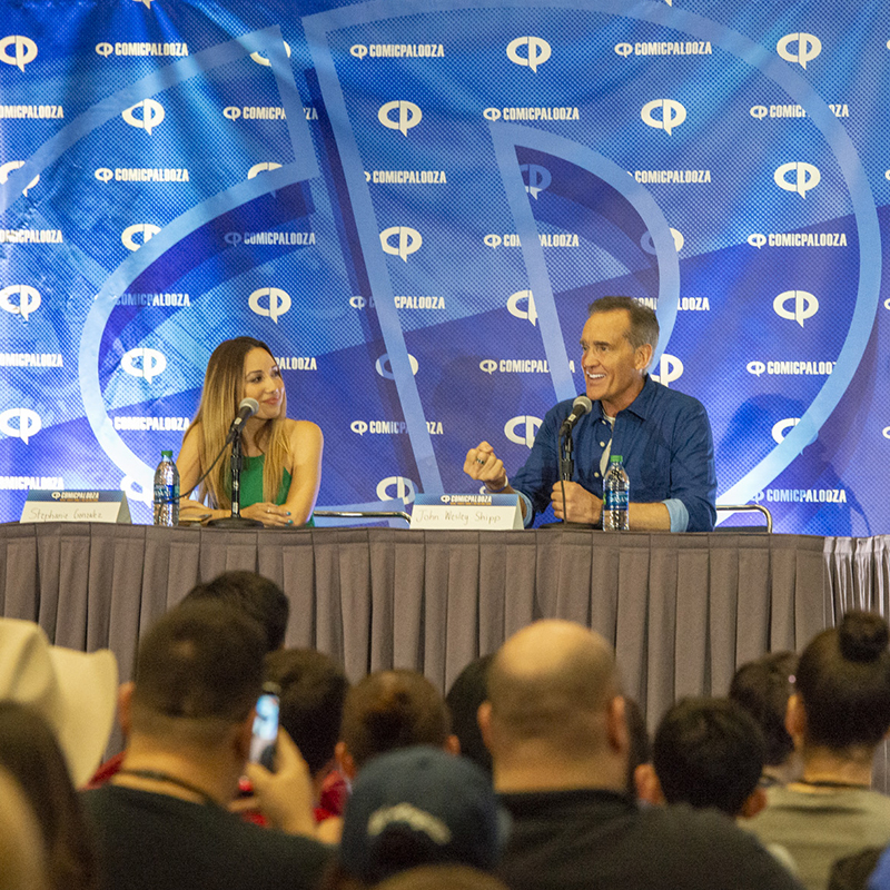 Comicpalooza Celebrity Guest Panel