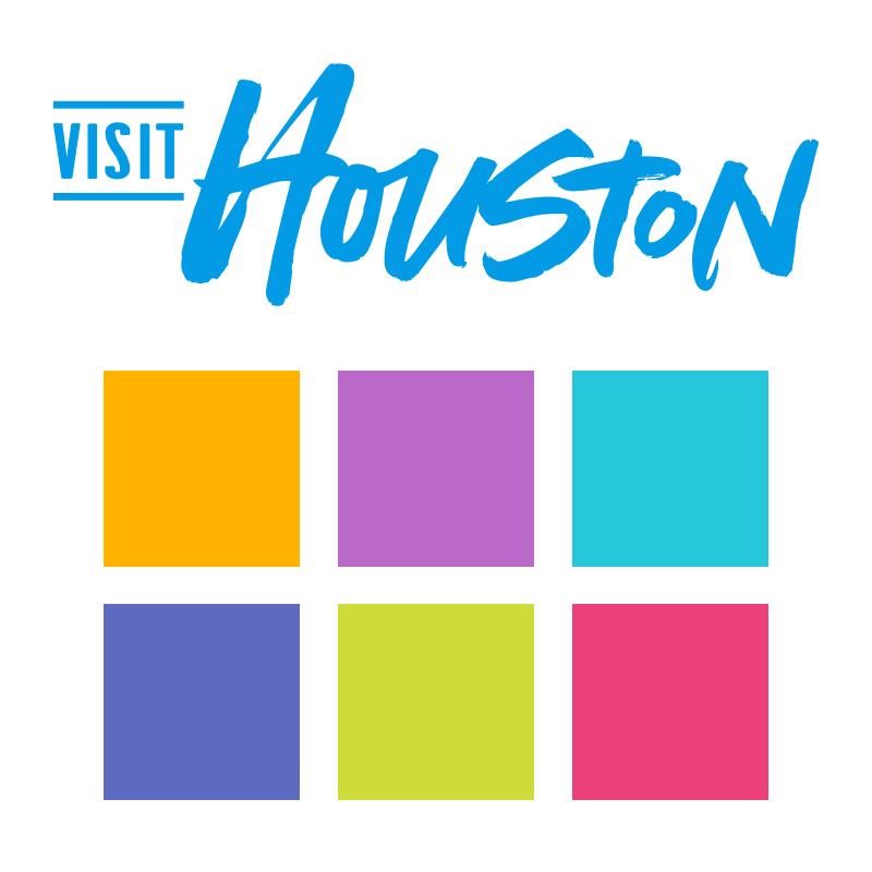 Visit Houston Brand Colors
