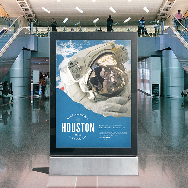 Houston Airports Concourse Poster