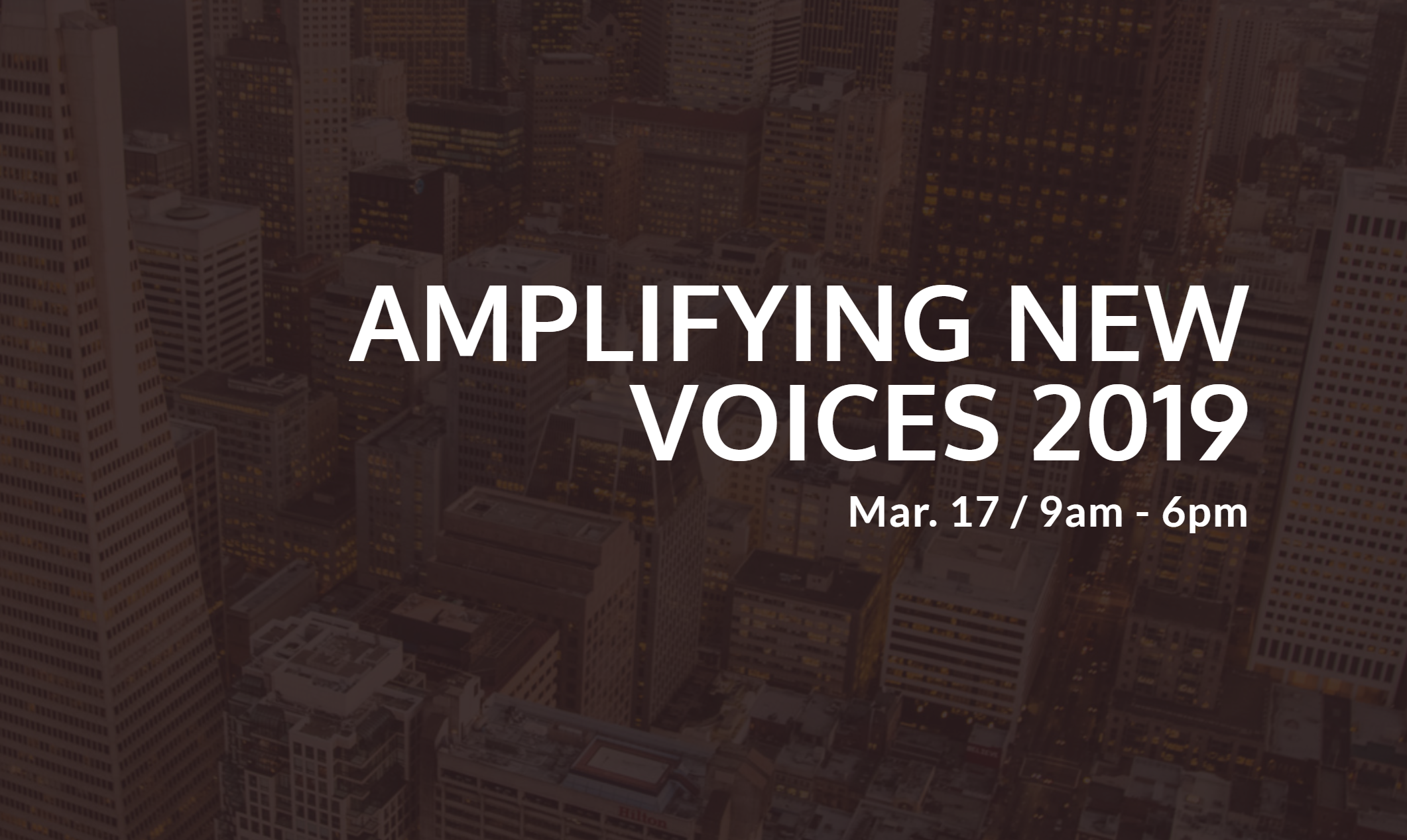 Awarded a GDC scholarship with the Amplifying New Voices 2019