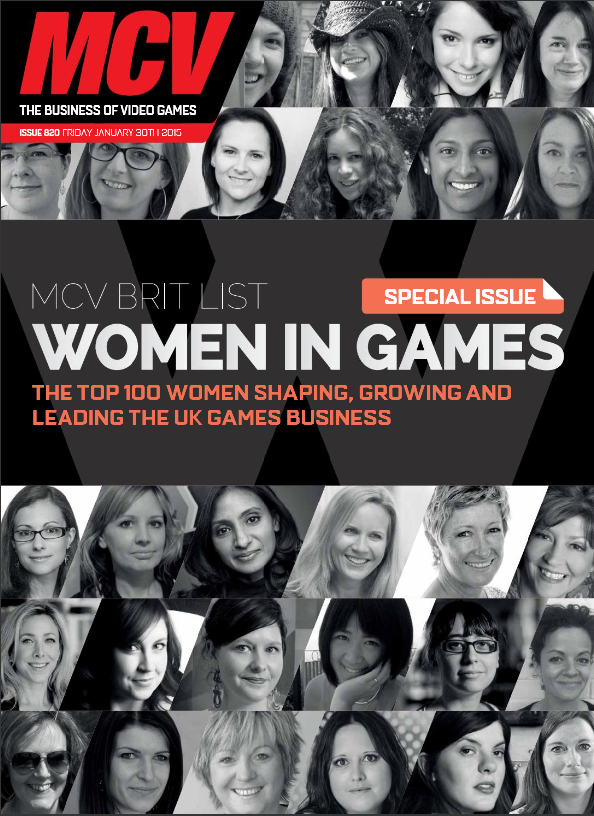 Named one of MCV's Top 100 Women in Games