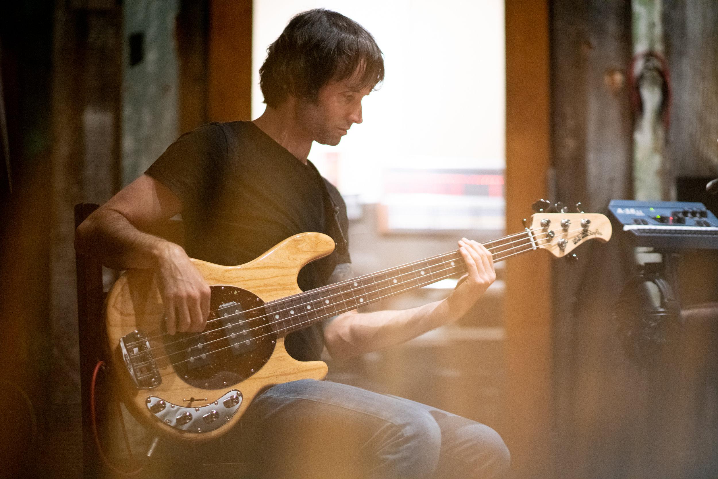 chris collins - bass guitar