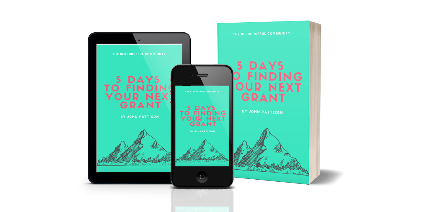 5 Days to Finding Your Next Grant (eBook and Audiobook)   Takes you step-by-step through the first stages of finding the perfect grant for your organization and making a great first impression on a grantmaker. 70+ page eBook and audiobook.   Note: Currently only available as part of the 5 Days to Finding Your Next Grant course bundle.