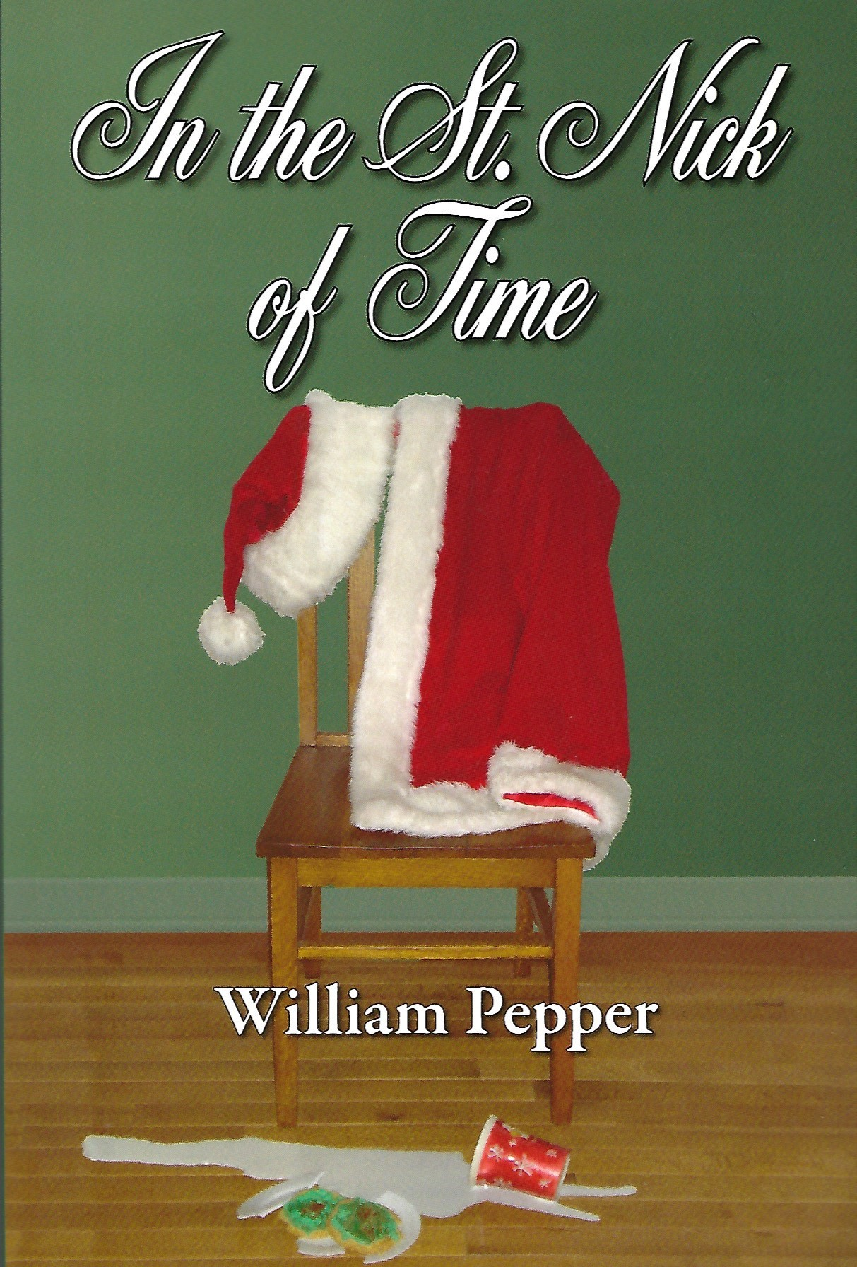 "A lot of people have lousy Christmases, even when they live in the town of Santa Claus, Indiana.  Cameron Jones used to be a successful author. But this year, as another holiday looms, he is beset by a depression that rivals fruitcake in density. His ex-wife is moving away with their daughter Holly and a sleezy reporter is dogging him. And the foul-mouthed goldfish hallucination that keeps nagging him is no help at all.  Cameron's buddy Dogwater Hunt is a broke, obsessed alien-abductee with a pathological fear of holiday lights. He's desperate to prove Earth will be visited on Christmas Eve by mysterious ""Santa aliens."" If he can catch ""Santa"", he'll push forth the frontiers of science - and maybe get a new TV.  Meanwhile, Santa Claus - the big man himself, not the town - is beaten down by centuries of children growing up and no longer believing. He ponders the reality of his imaginary world - living on cookies, hanging out with elves. It's all so absurd, he can't help but wonder ""Do I really exist?""  The answer to that question could determine the future of Christmas. Cameron and Dogwater are unwittingly caught up in a plan to save Santa from himself. If you ever believed St. Nick was real, buy this book. Maybe he still is.  Available in print and E-Book pretty much everywhere.  And you can add it on Goodreads.   PRINT:  Amazon ,  B&N,   BAM ,  Indiebound   EBOOK:  Amazon ,  B&N ,  Kobo"