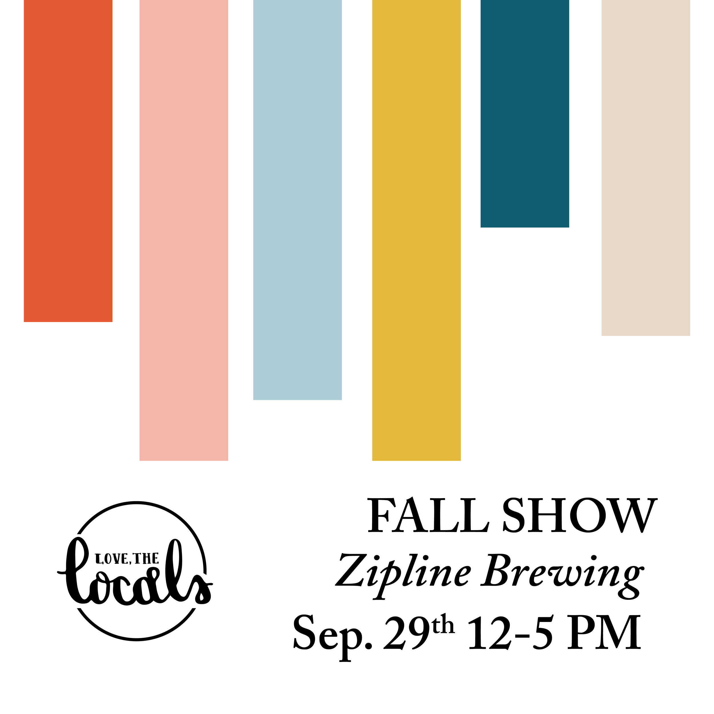 Love, The Locals Fall Makers Event September 29th