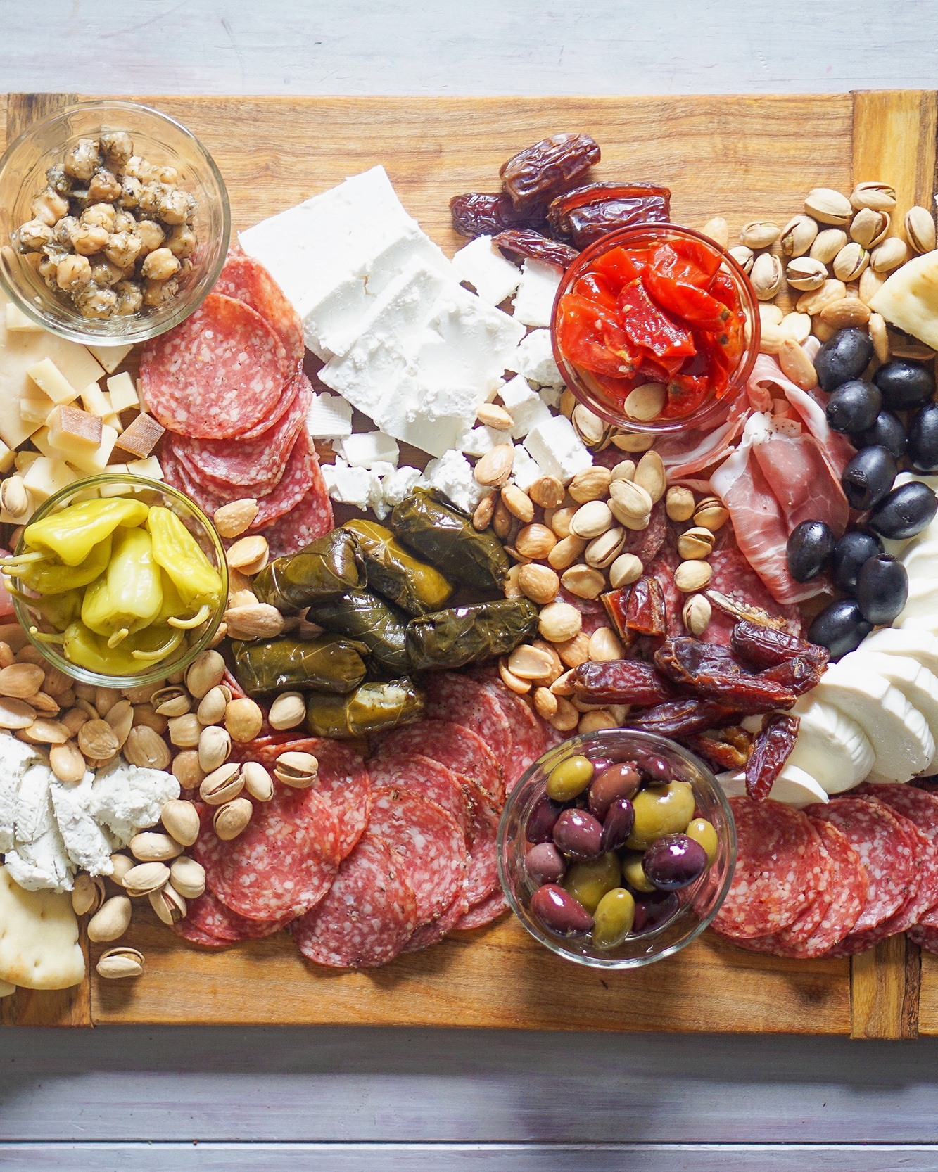 cured meats&cheeses -