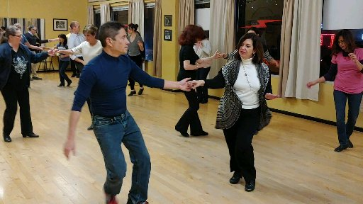 """We specialize in Ballroom and Latin but also teach other """"Club"""" styles."""