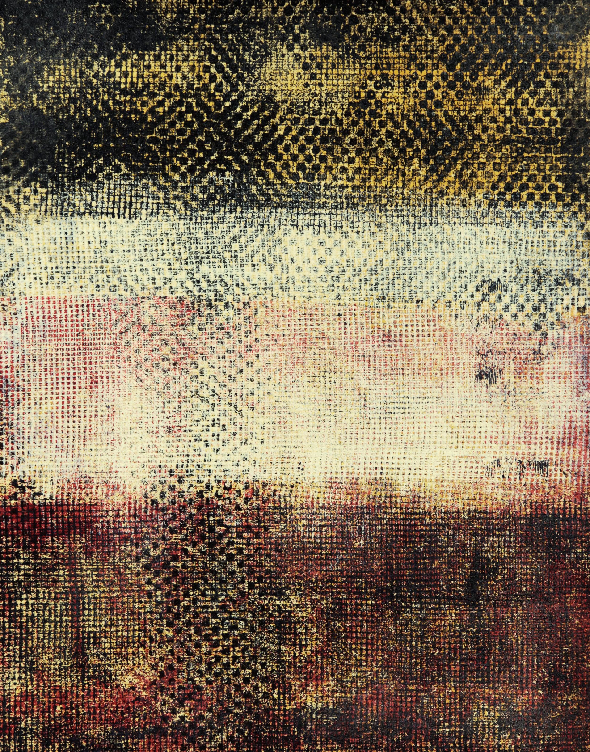 Corridor #1; acrylic on paper; 28 x 35,6 cm; 2018