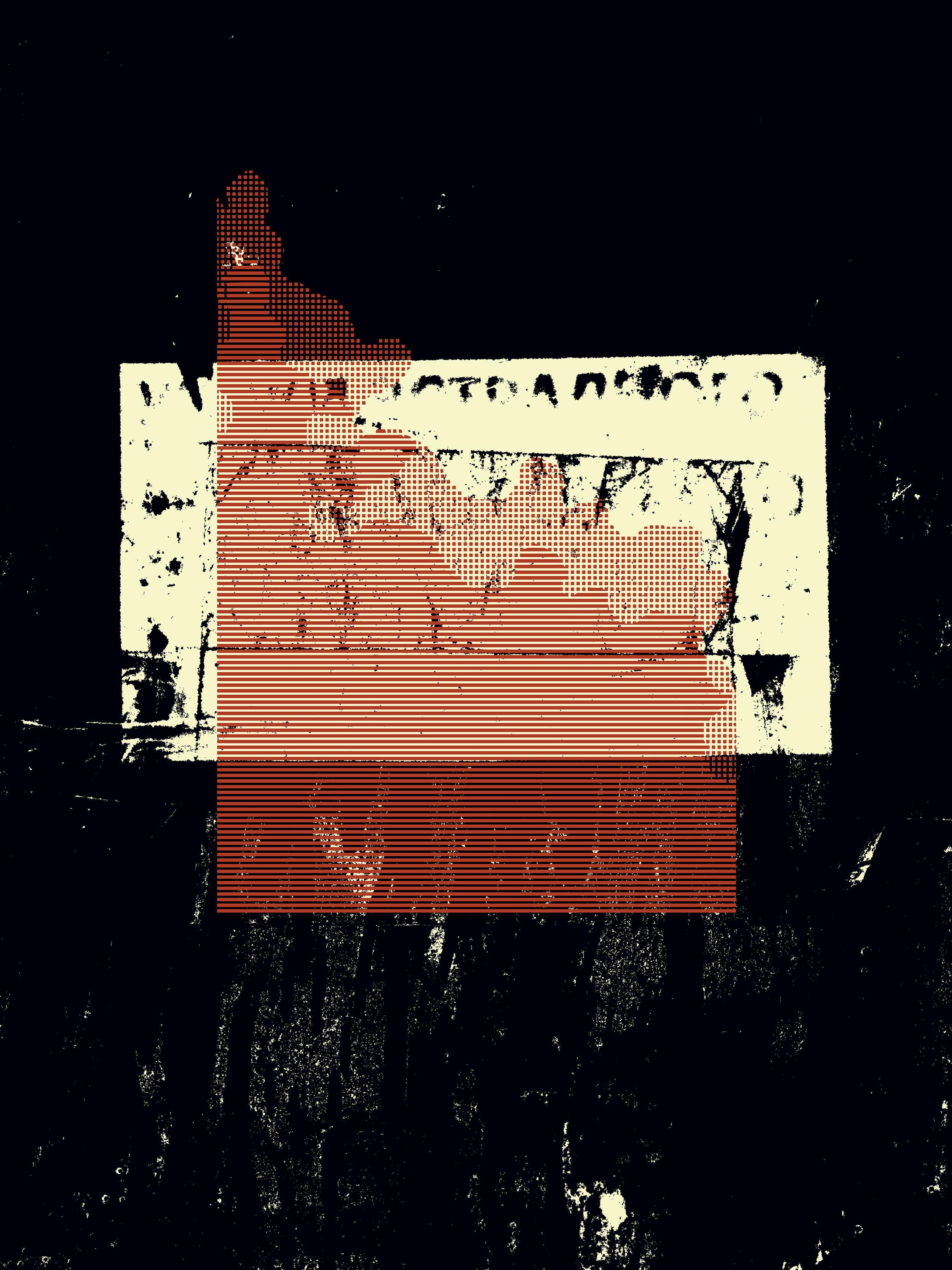 Actual Process 1. - archival inkjet print; 2019