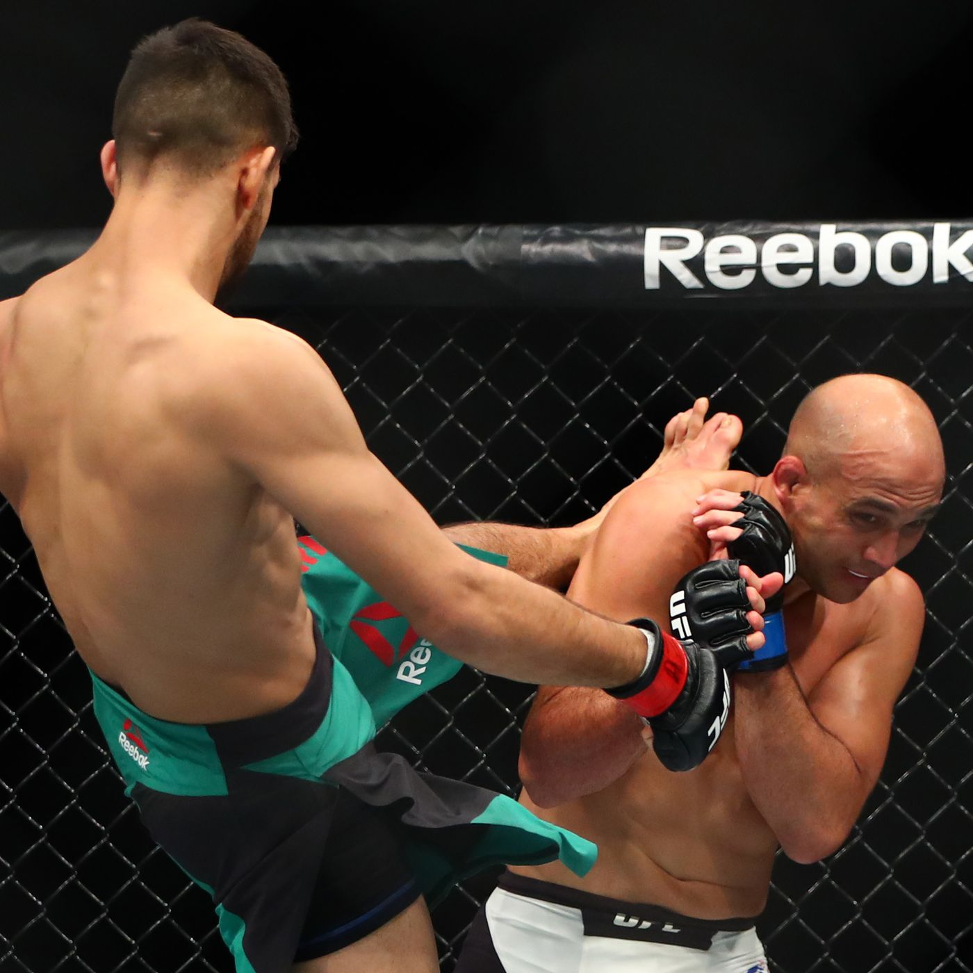 At least his case is not as bad as BJ's. (Source: UFC)