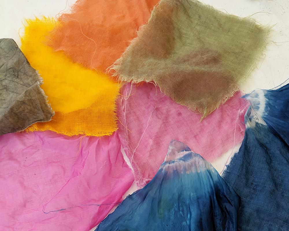 Textiel verven -