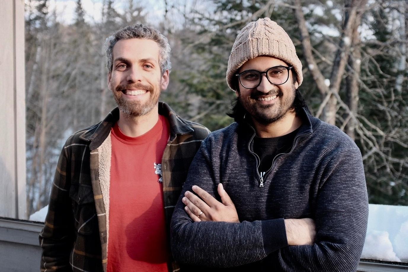 Co-Founders Jake Mazar and Soham Bhatt.