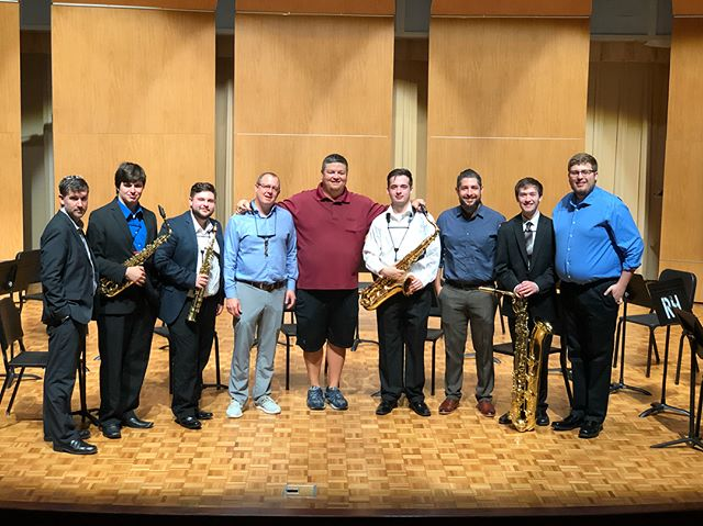 Another fantastic Carolina Saxophone Camp in the books.  The level of musicianship, passion, and progress shown at this camp continues to astound me each year!  I have never felt more blessed to get to work with the Assembly Quartet year after year.  They go above and beyond the calling of performance, education, and citizenship and I could not be prouder to call them my friends.  It also felt great to have some familiar faces from USC, in the Regulus Quartet.  I'd say the USC saxophone family was admirably represented this week #carolinasaxophonecamp #wcu #assembly #usc #proud #ensemble #quartet #untilnextyear #practicepracticepractice