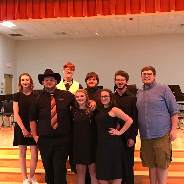 So thrilled to see these incredible individuals perform their final concert at Starmount High School tonight.  I feel privileged to have taught you and helped lead you to be the incredible musicians you are today.  I remember all the terrible sounds you made in 7th grade and now you are going to change the world.  Never lose your passion and always keep dreaming.  You are an inspiration! #proudofyou #musiceducation #goforthandprosper #youcandoanything #SHS