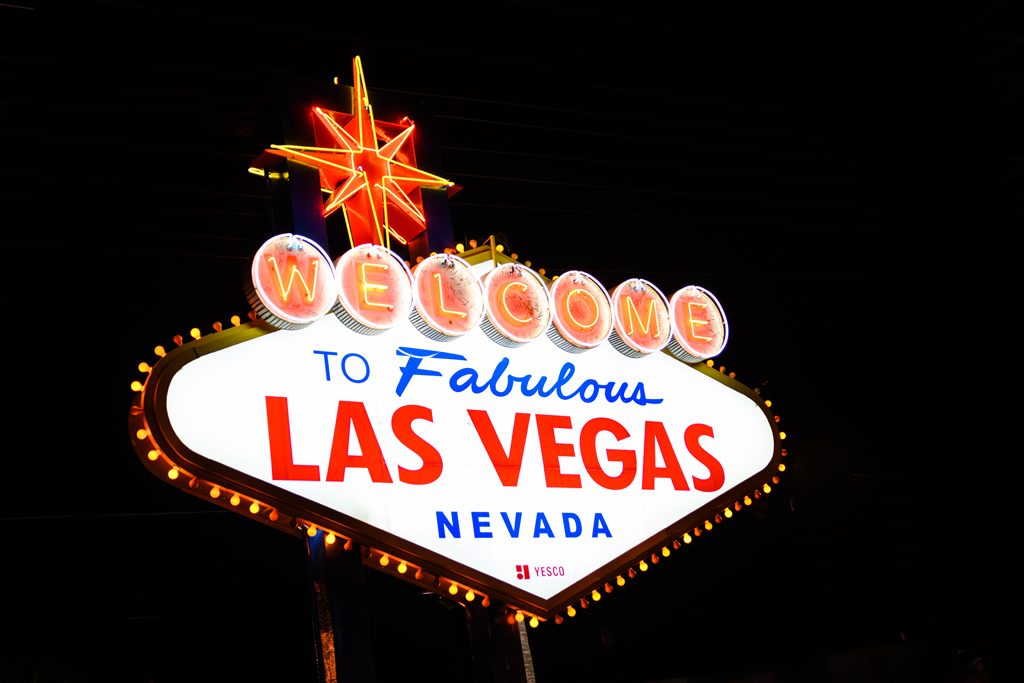 Photo Title: Welcome to Las Vegas!