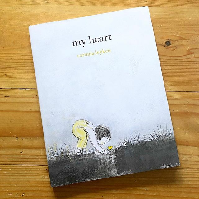 """MY HEART//- this book found me today . 💛 My heart. • The first words of the book """"my heart is a window"""" • Simple words, with a powerful impact, describe ways of how our heart might feel on any given day. From 'cloudy and heavy with rain', to 'a light and a guide', abstract concepts hit you in a concrete way. After each page I was left thinking, 'yes, my heart has felt that way'. • We love this read and indulge in it often ,'maybe even more on days when we're sad.' 💛. Grab a copy today and share it with your little ones. • #yegreads #readwithus#myheart#airporttravels#myheartfeels#reggioemiliaschool #yourheart #loveliteracy#childrensbooks #loveyourlittleones#internationalreggiocommunity #feeltoheal #love#thecanfam"""