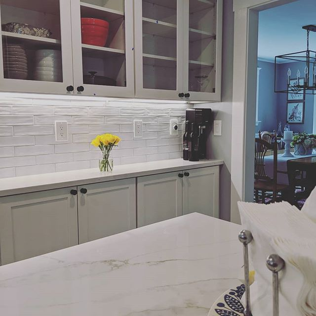 Kitchen renovation (almost) complete.  Call us for your next project! 781-507-4767