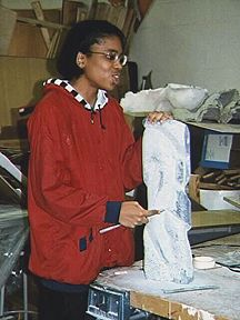 suitland 97 STUDENT W TALL STANDING PIECE.JPG