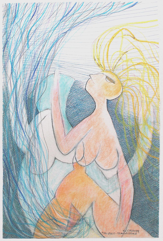 """My Spirit ... transference"""