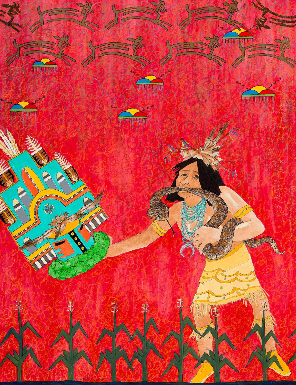 """Hopi Snake Antelope Ceremony"""