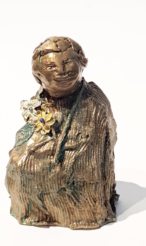 bronze child w flowers 3   front.jpg