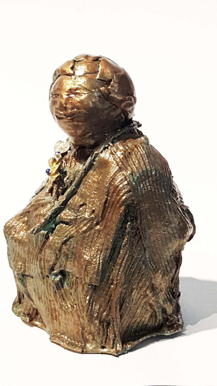 bronze child w flowers 3 front lft.jpg