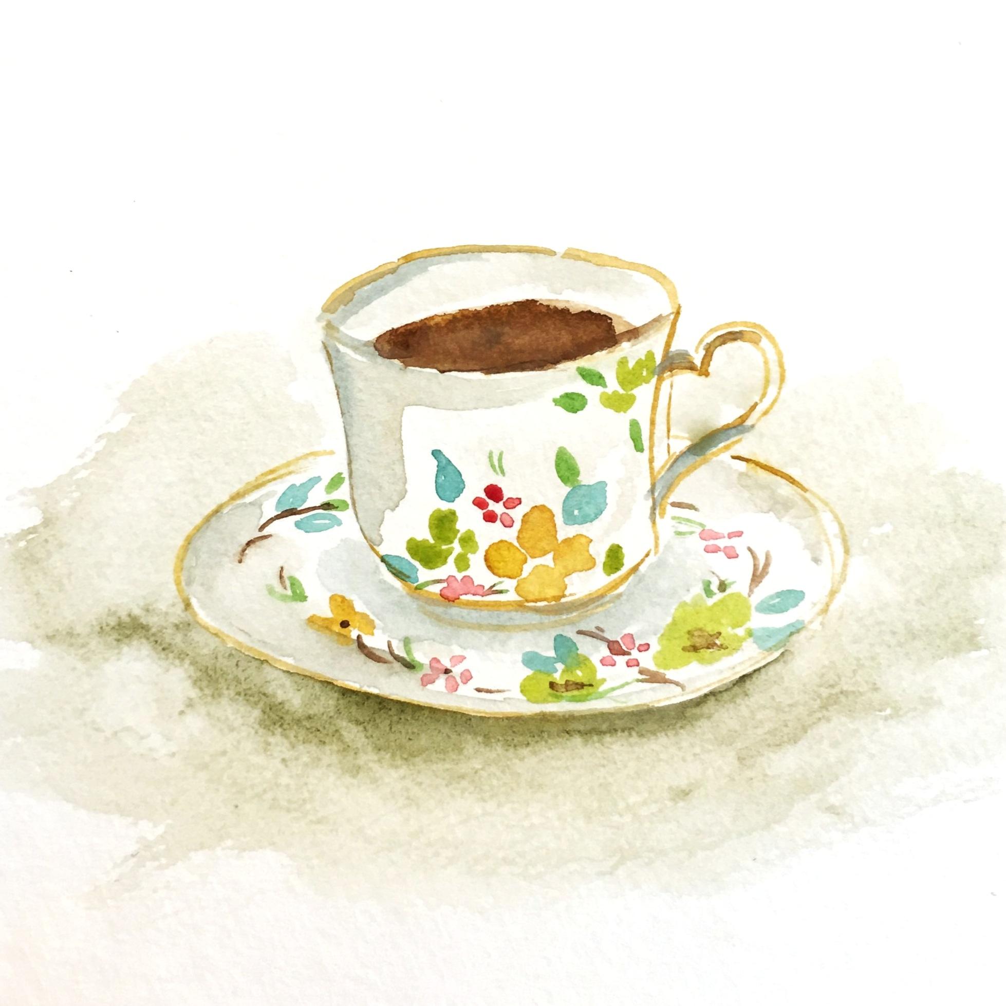 Teacup 2017  Watercolor